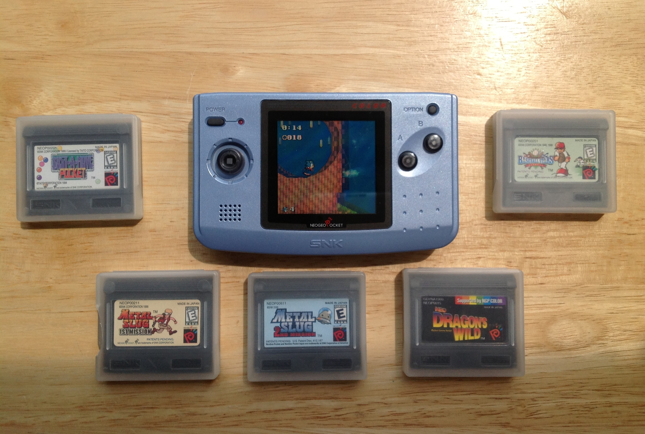 94792250a90 SNK NeoGeo Pocket Color   Electric Thrift